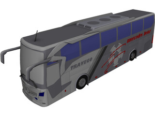 Mercedes-Benz Travego 3D Model