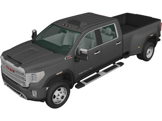 GMC Sierra 3500HD (2019) 3D Model
