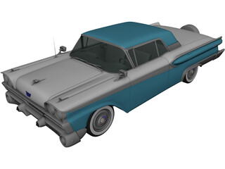 Ford Galaxie 500 (1958) 3D Model