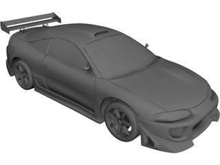 Mitsubishi Eclipse (1995) 3D Model