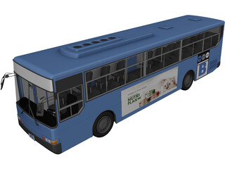 Daewoo Korea Bus 3D Model