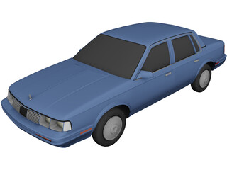 Oldsmobile Cutlass Ciera (1986) 3D Model
