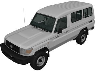 Toyota Land Cruiser (2010) 3D Model
