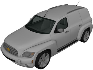 Chevrolet HHR Panel Van (2011) 3D Model