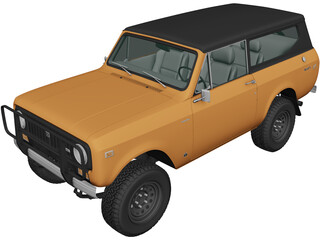 International Scout II (1976) 3D Model