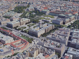 Vienna City, Austria (2019) 3D Model