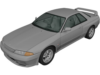 Nissan Skyline R32 GT-R Coupe (1989) 3D Model