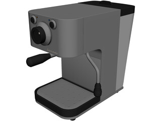 Cappumatic Coffee Maker 3D Model