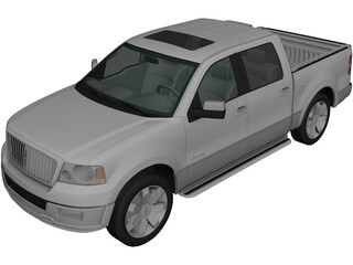 Lincoln Mark LT (2005) 3D Model