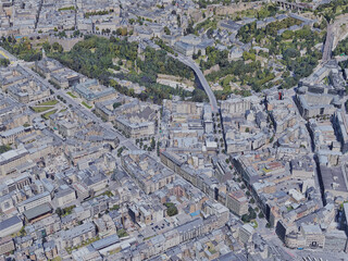 Luxembourg City (2019) 3D Model