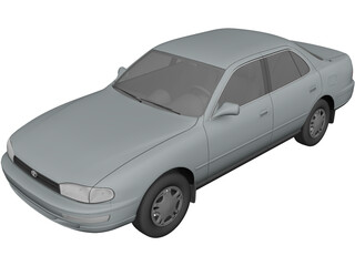 Toyota Camry (1992) 3D Model