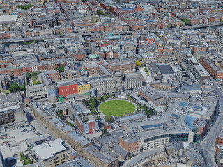 Dublin City, Ireland (2019) 3D Model