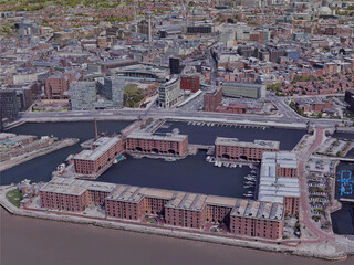 Liverpool City, UK (2019) 3D Model