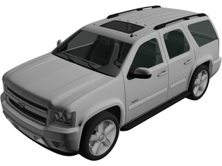 Chevrolet Tahoe (2010) 3D Model
