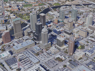 Tampa City, FL, USA (2019) 3D Model