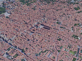 Bologna City, Italy (2019) 3D Model