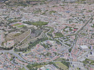 Braga City, Portugal (2019) 3D Model