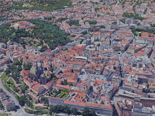 Brno City, Czechia (2019) 3D Model
