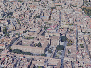 Catania City, Italy (2019) 3D Model