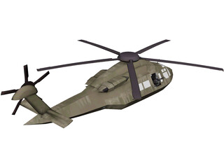 UH-80 Ghost Hawk 3D Model