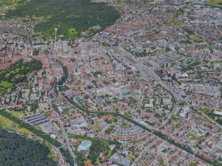 Ljubljana City, Slovenia (2019) 3D Model