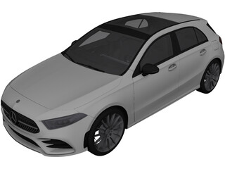 Mercedes-Benz A-Class (2020) 3D Model