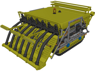 Underwater Rover 3D Model 3D Preview