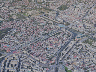 Bucharest City, Romania (2020) 3D Model