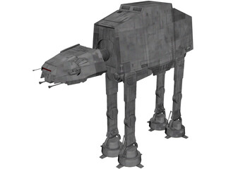 Star Wars ATAT 3D Model