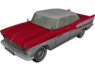 Matra Simca Chambord (1959) 3D Model
