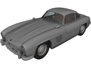 Mercedes-Benz 300SL 3D Model