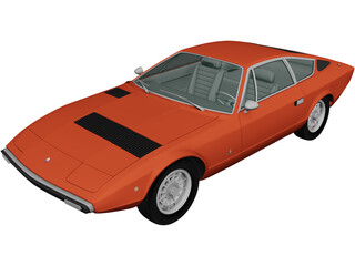 Maserati Khamsin AM120 (1977) 3D Model