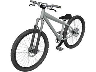 Specialized P1 Jump Bike CAD 3D Model