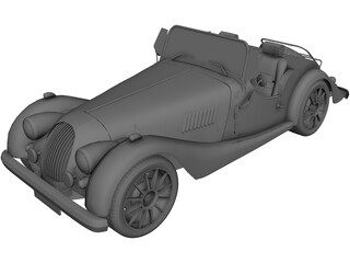 Morgan Roadster 3D Model