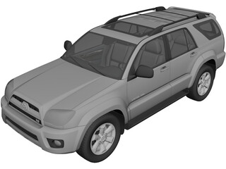 Toyota 4Runner (2009) 3D Model