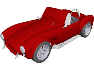 Shelby AC Cobra CAD 3D Model