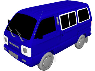 Suzuki Super Carry 3D Model