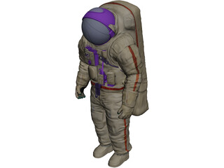 Astronaut Suit 3D Model