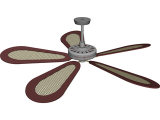 Ceiling Fan Fancy 3D Model