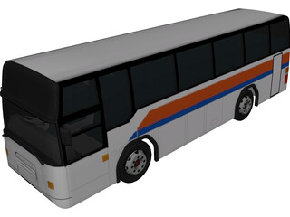 Volvo Bus [+Interior] 3D Model