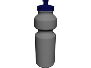 Drink Bottle 500 ml 3D Model