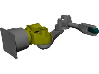 Fanuc M16ib - AM120iB 3D Model