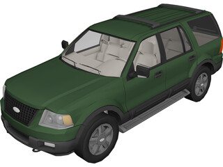 Ford Expedition 3D Model