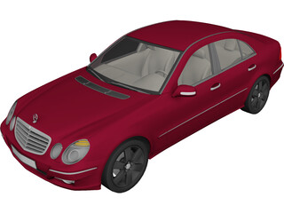 Mercedes-Benz E-class 3D Model