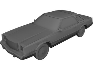Chrysler Cordoba 3D Model