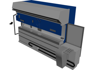 Folding Machine 3D Model 3D Preview