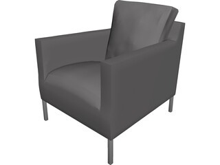 B&B Armchair 3D Model