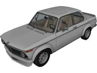 BMW 2002 Turbo 3D Model