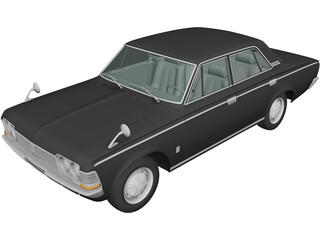 Toyota Crown (1967) 3D Model