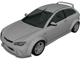 Proton Satria Nea 1.6 3D Model 3D Preview
